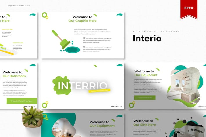 Thumbnail for Interio | Шаблон Powerpoint