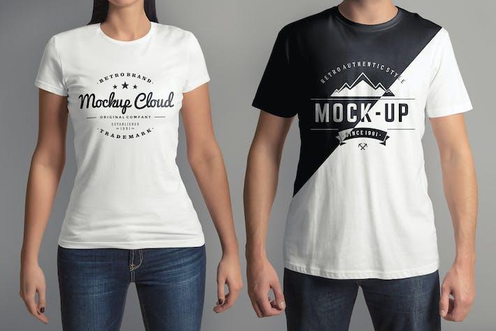 thumbnail for t shirt mockup set