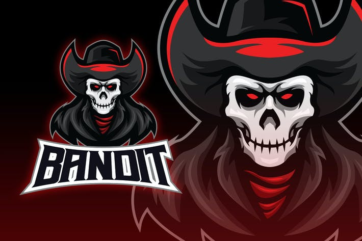 Thumbnail for Undead Cowboy Esport Logo