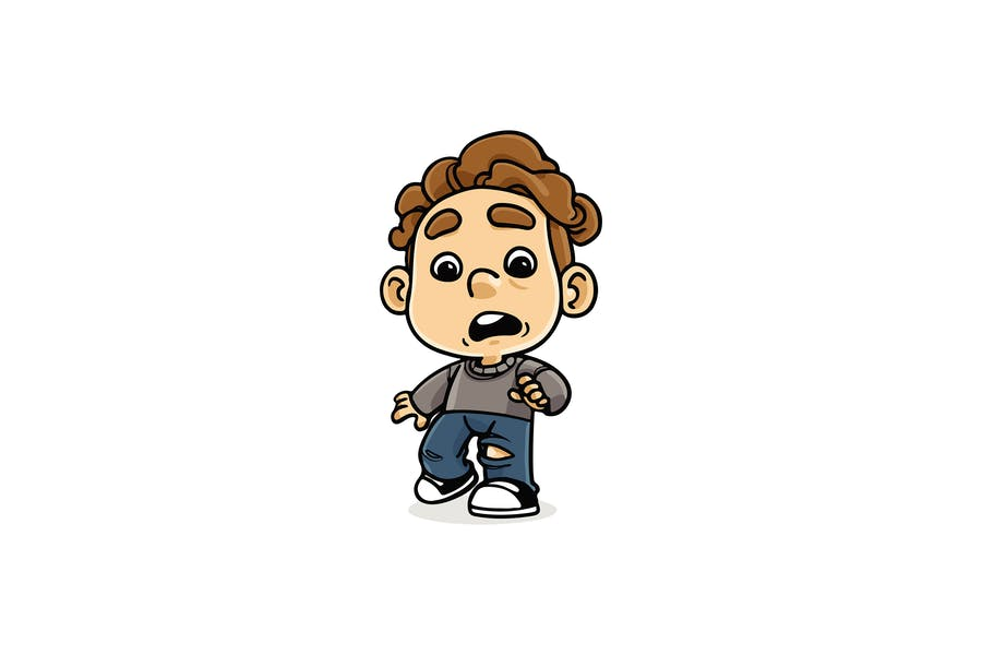 Shocked Kid - Character RG