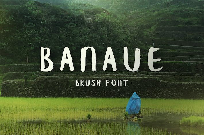 Thumbnail for Banaue Handwritten Brush Font
