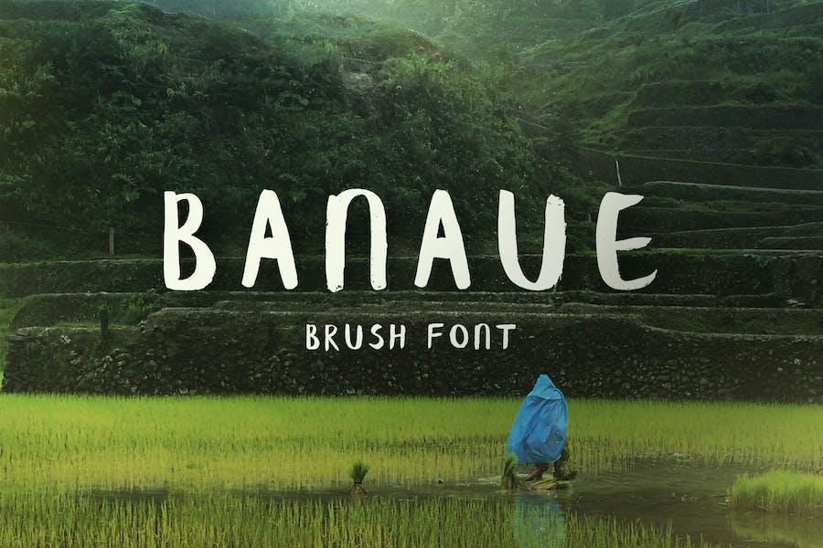 Banaue Handwritten Brush Font