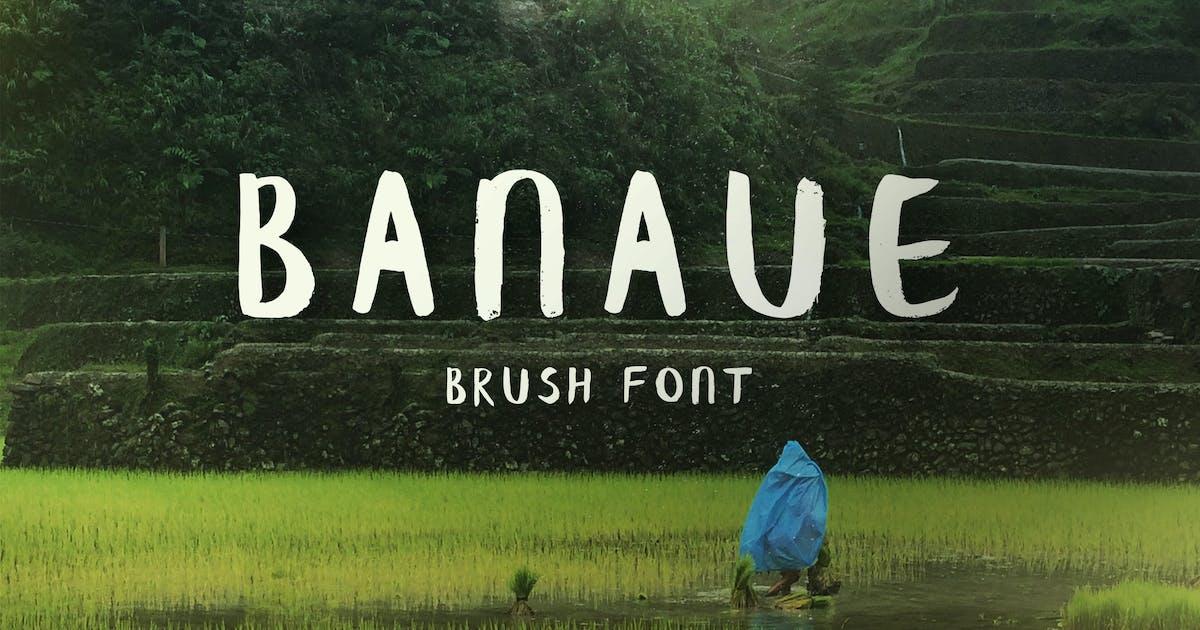 Download Banaue Handwritten Brush Font by WildOnes