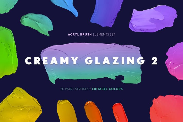 Thumbnail for Creamy Glazing 2 - Paint Striche