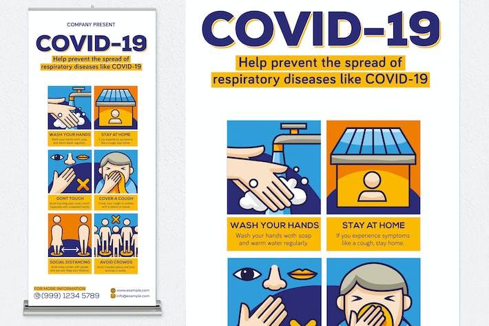 Thumbnail for Covid-19 Print Templates