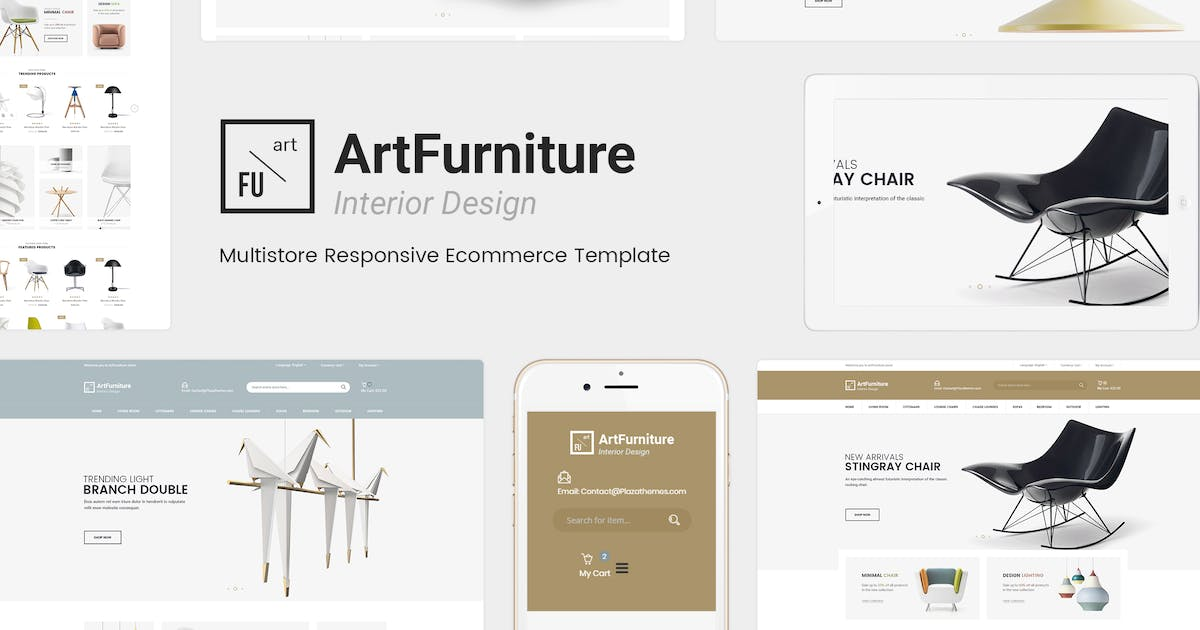 Download ArtFurniture - Responsive OpenCart Theme by Plaza-Themes