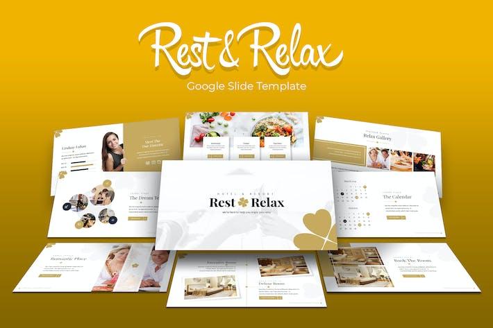 Thumbnail for Rest & Relax - Google Slides Template