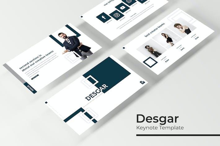 Thumbnail for Desgar - Plantilla de Keynote
