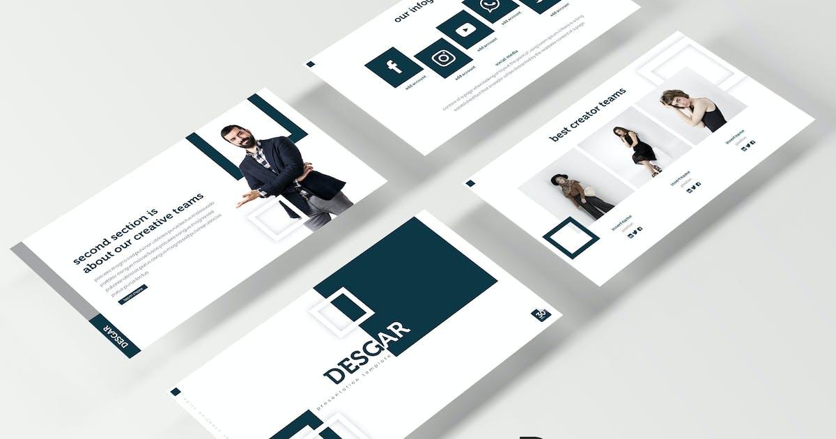 Download Desgar - Keynote Template by IanMikraz