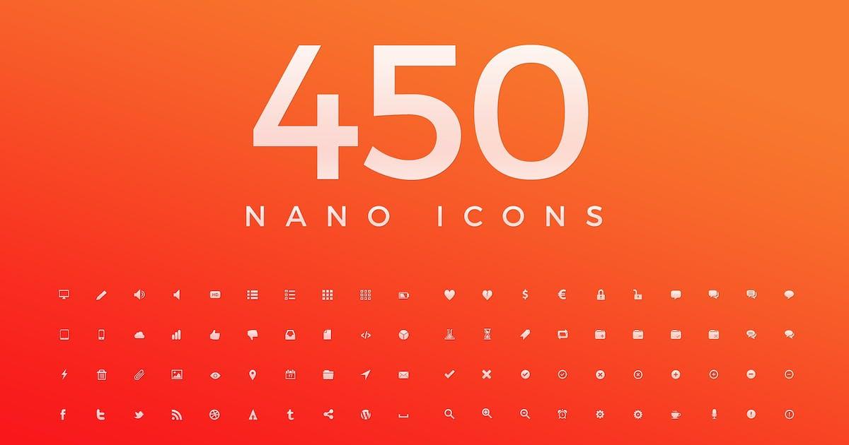 Download 450 Nano Icons by KL-Webmedia