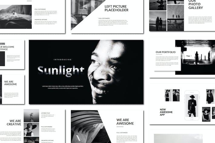 Thumbnail for Sunlight | Powerpoint Templates