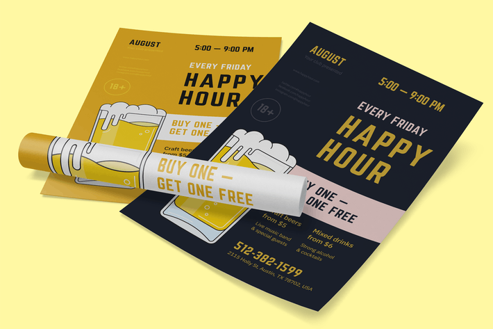 Thumbnail for Happy Hour Poster