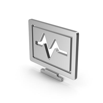 Symbol Health Monitor Silver