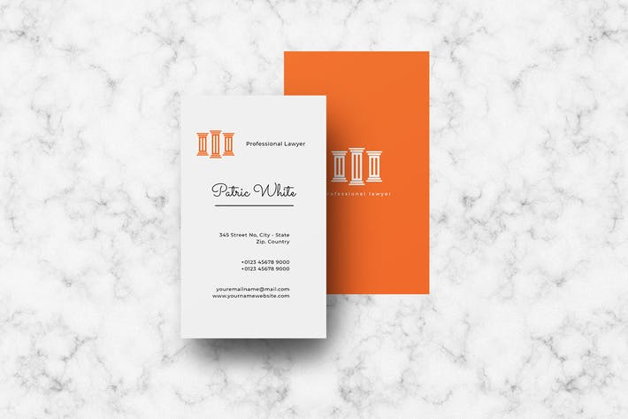 Vertical Business Card Vol. 3
