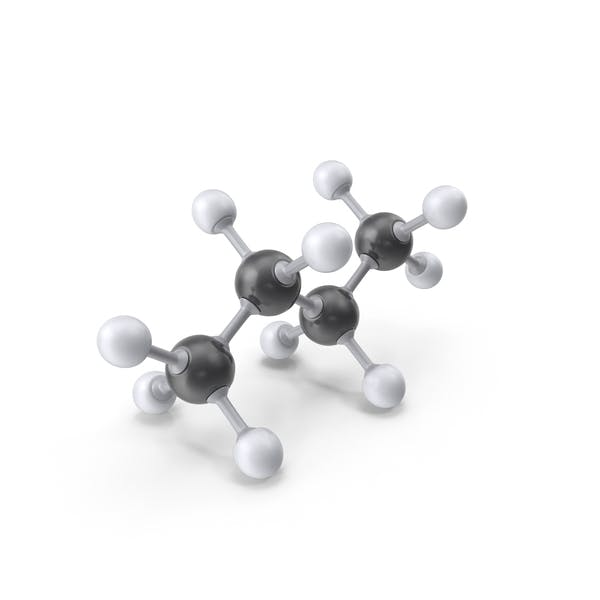 Cover Image for Butane Molecule