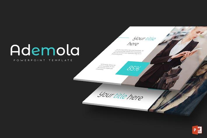 Thumbnail for Ademola - Modèle Powerpoint