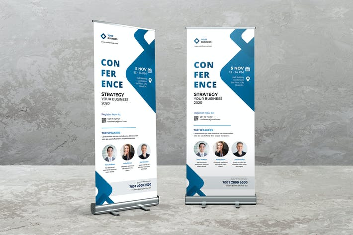 Thumbnail for Conference Roll Up Banner
