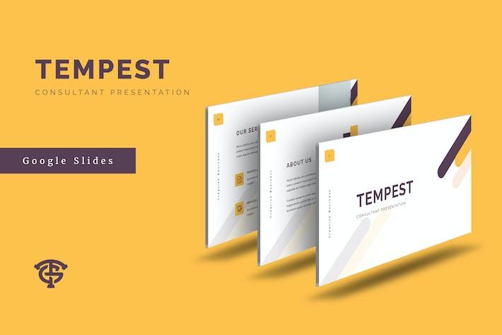 Thumbnail for Tempest Consultant - Google Slides