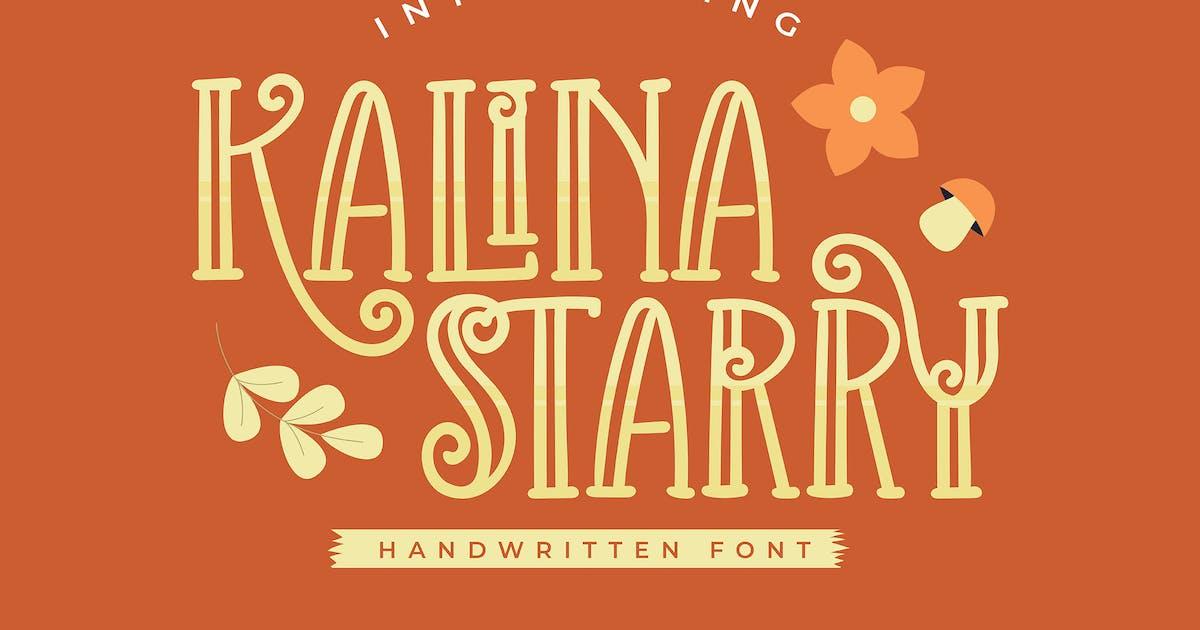 Download Kalina Starry   Handwritten Font by Vunira