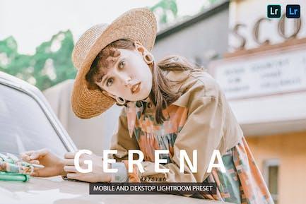 Gerena Lightroom Presets Dekstop and Mobile