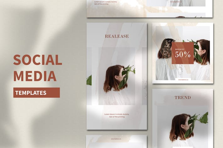 Thumbnail for Social Media Templates V2