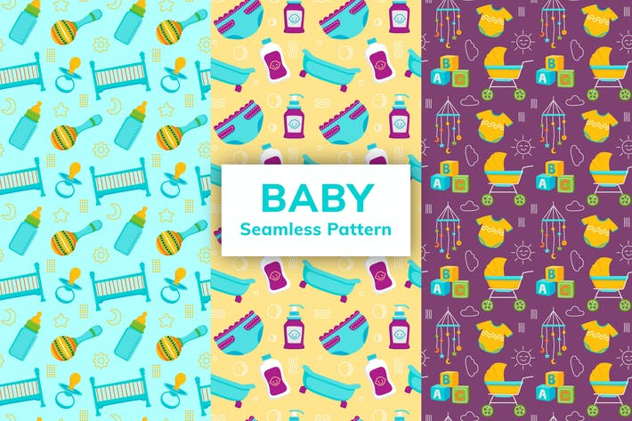 Thumbnail for Baby Nahtloses Muster