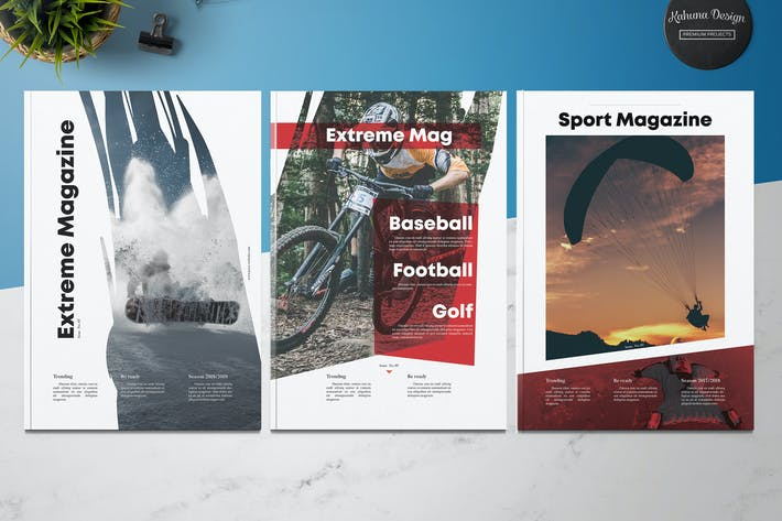 Cover Image For Extreme Sport Magazine