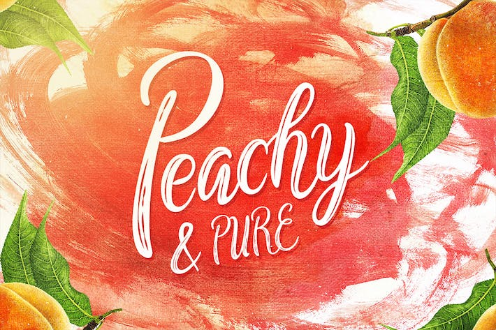 Thumbnail for Peachy & Pure - Typeface