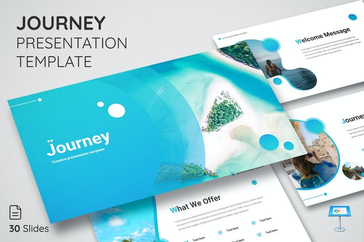 Thumbnail for Journey - Keynote Presentation Template
