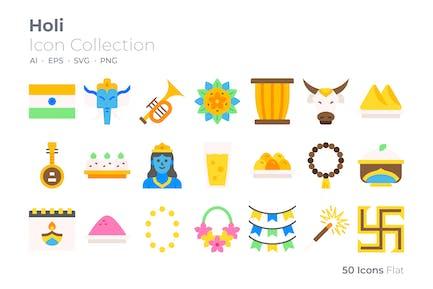 Holi Color Icon