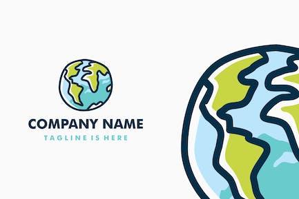 Doodle Globe Logo