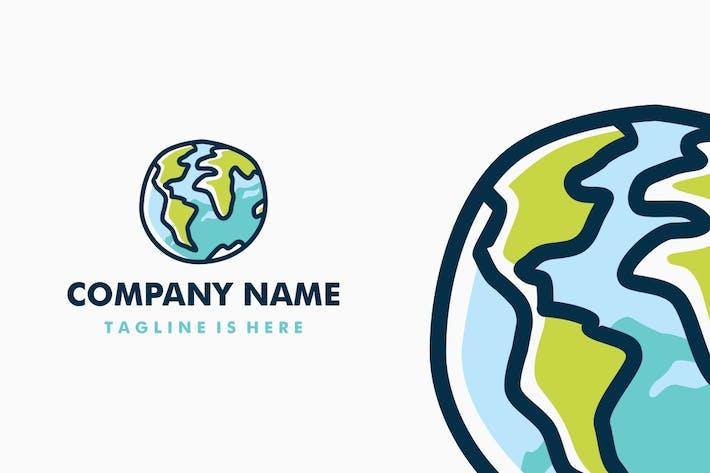 Thumbnail for Doodle Globe Logo