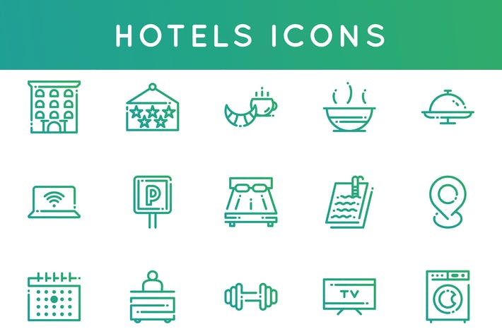 Thumbnail for Hotel Icons