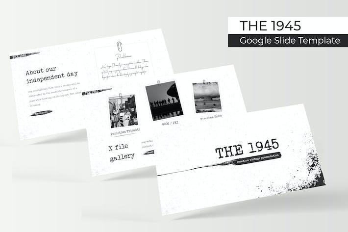 Thumbnail for The 1945 - Google Slide Template