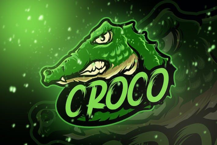 Thumbnail for Croco Head Esport Logo