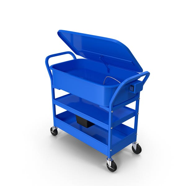 Mobile Parts Washer Cart