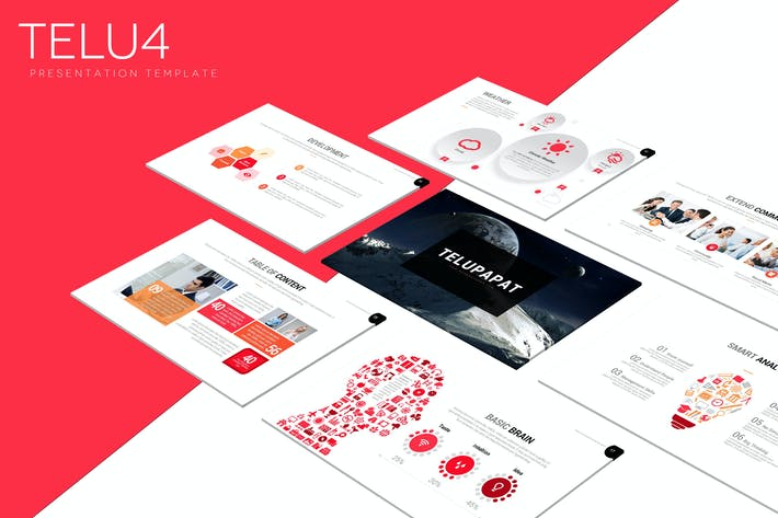 Thumbnail for Telu4 - Powerpoint Template