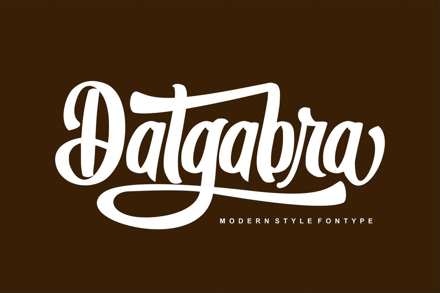 Font de style moderne Datgabra