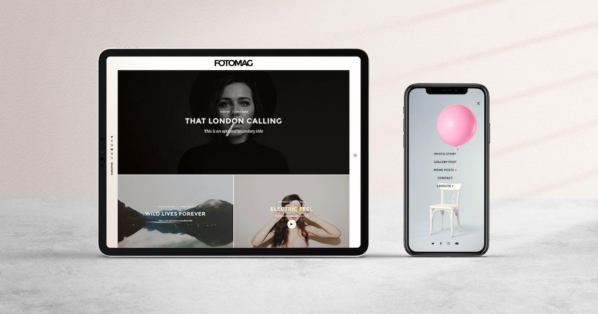 Download Fotomag | Minimal Blog, Magazine, Personal Blog by codetipi