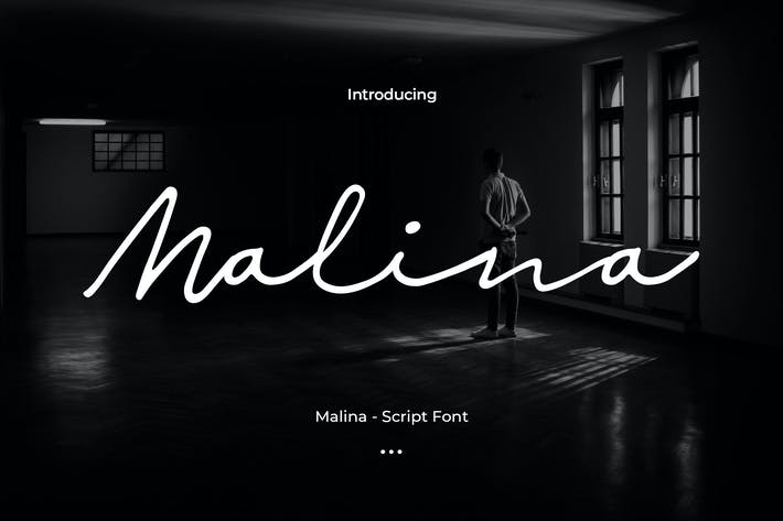 Thumbnail for Malina - Tipo de letra