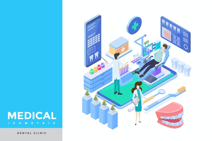 Thumbnail for Dental Clinic Isometric