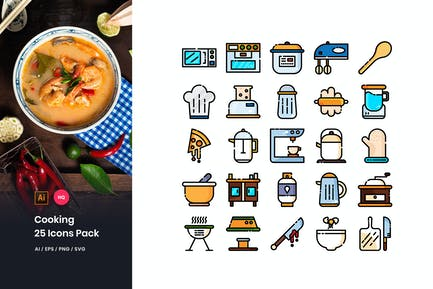 Kochen Icons Pack