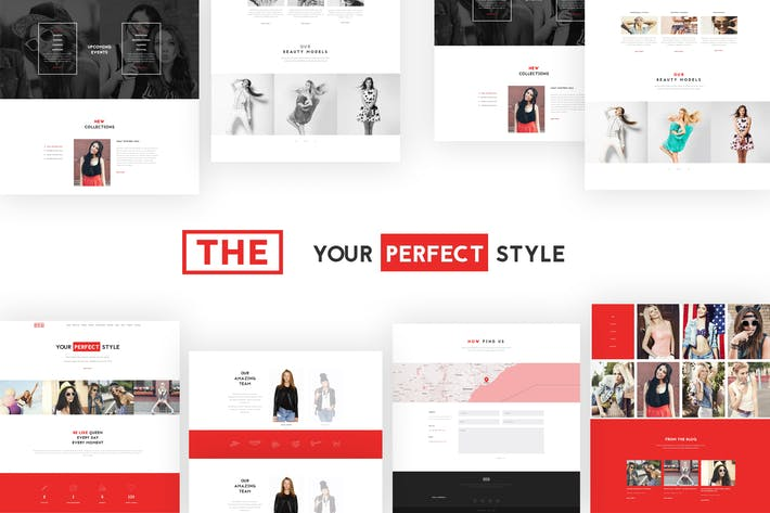 Thumbnail for The Fashion Model Agency One Page Beauty WP Theme