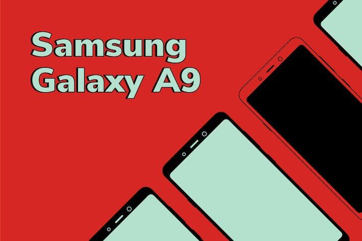 Thumbnail for Samsung-Vektor Mockup