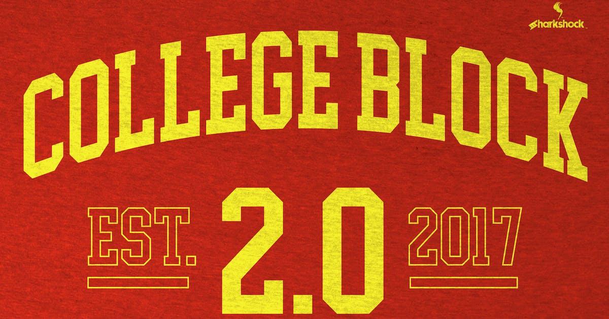 College Block 2.0 by sharkshock