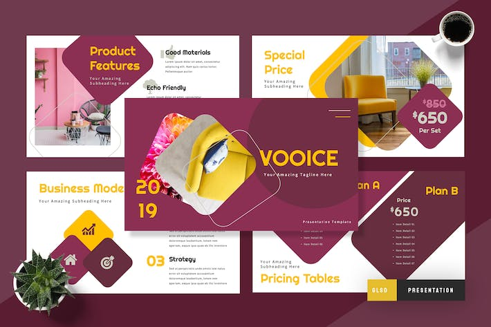 Thumbnail for Vooice Furniture Google Slides Presentation