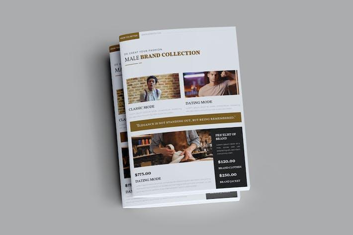 Thumbnail for Brown Fashion Brochure