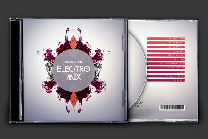 Thumbnail for Electro Mix CD Cover Artwork