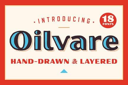 Семейство шрифтов Oilvare