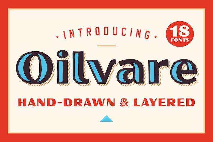 Thumbnail for Oilvare Font Family
